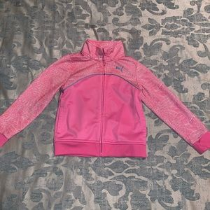 Girls Puma Lightweight Performance Jacket